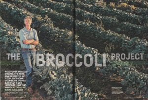 broccoli field accompanying article