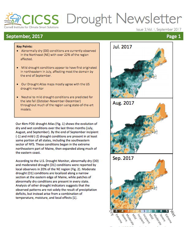 drought newsletter