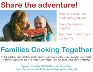 family cooking series 2014
