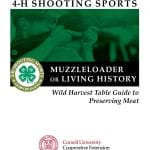 4H-Shooting-Sports_Wild-Harvest-Table_Muzzleloader_-Living-History cover