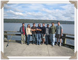 Emr lab at Cayuga lake
