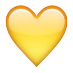 yellow-heart