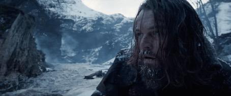 Screen shot of Leonardo DiCaprio from The Revenant. 20th Century Fox.
