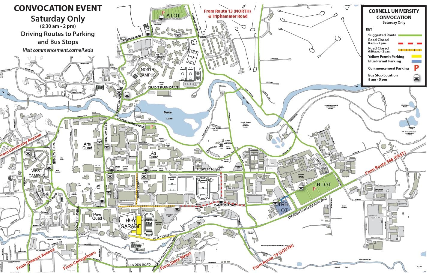 Parking & Directions – Office of Commencement Events