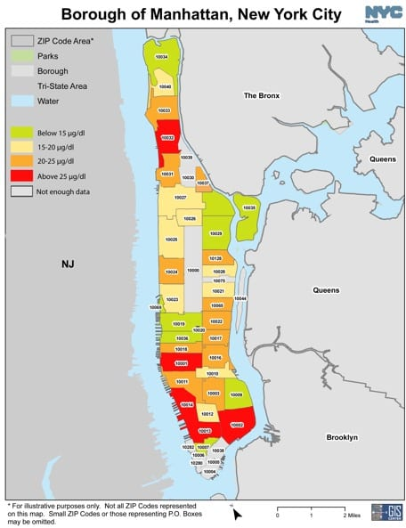 Wildlife Health comes to New York City – Investigating Lead ... on street map manhattan, elevation map manhattan, census tract map manhattan, bronx zip map manhattan, travel map manhattan, google maps manhattan, postal code map manhattan, phone area code manhattan, district map manhattan, map of manhattan, zip code map manhattan,