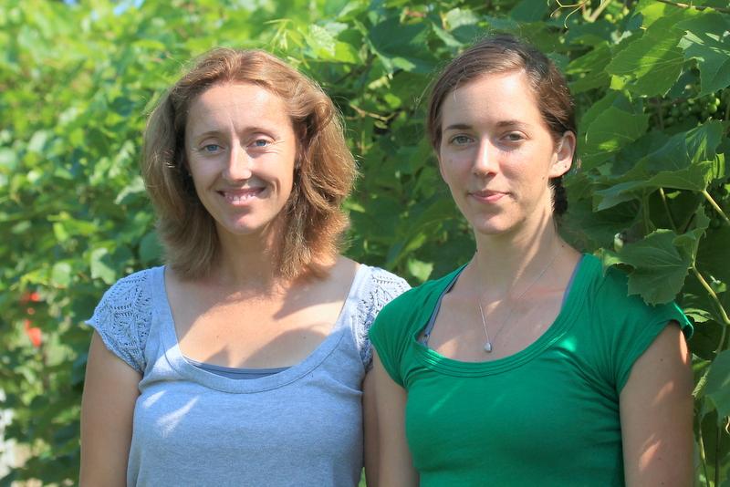 Anna Wallis and Lindsay Pashow
