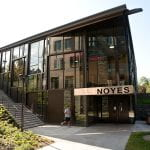 A photo of the Noyes recreation center.