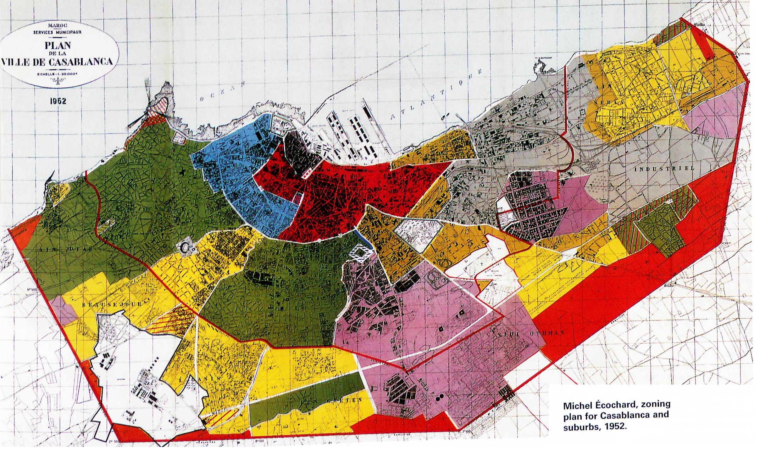 Modernity And Planning In The Developing World The History And - Los angeles zoning map