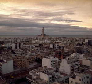 """Casablanca. In the background the Hassan II mosque."" -- Patrick Zachmann / Magnum Photos, 2000..jpg"