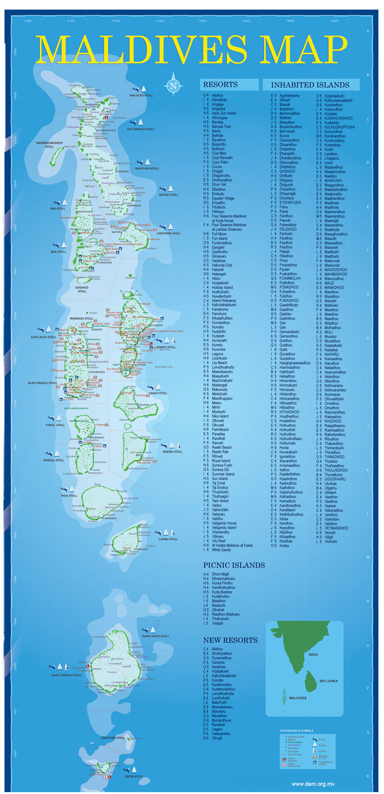 Modernity And Planning In The Developing World The Misty History - Republic of maldives map