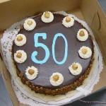 Abruna 50 BDay Cake