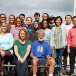 Clark Lab members at retreat 2019