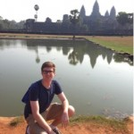 Austin at Angkor Wat