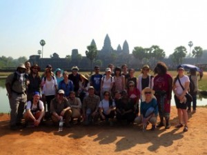 The whole program at Angkor Wat