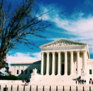 My dream workplace: the Supreme Court building.