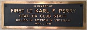 Karl Perry- Statler