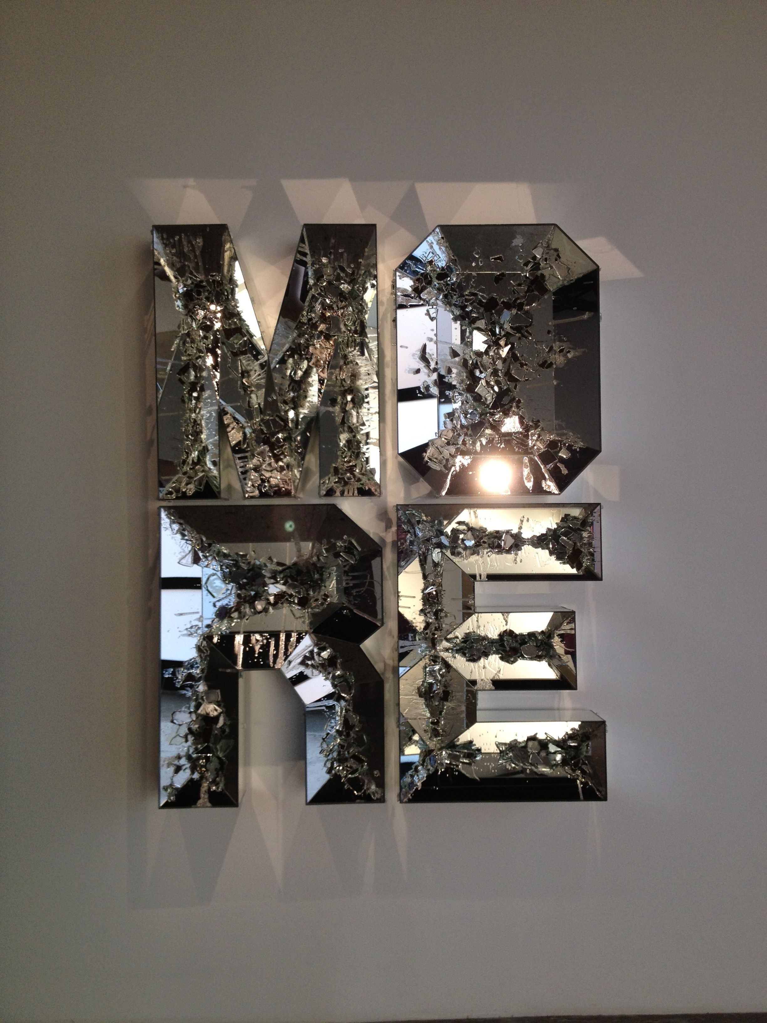 Glass Letters For Wall Gallery Hopping  Aap Nyc