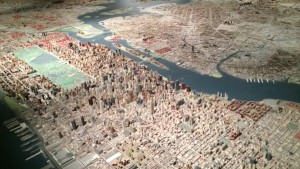 The Queens Museum boasts a gorgeous 3-D model of all five boroughs