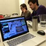 Netherlands based Florian Witsenburg, CEO Tygron Engine, leads a software training session for our class. Tygron is an online, 3-D multi-player gaming platform to design and engage urban communities.