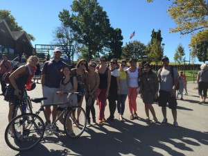 Touring Governors Island