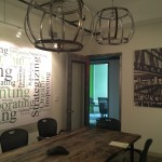 Bike-themed conference room