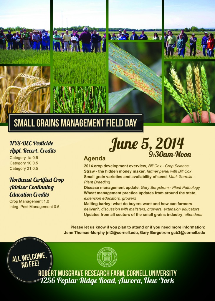 2014 Small Grains Management Field Day