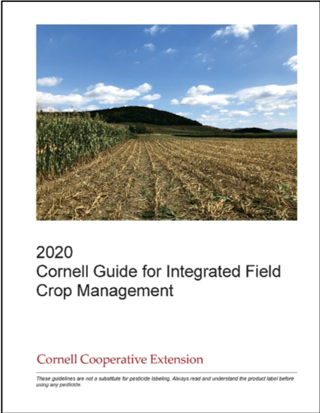 2020 Field Crops Guide Cover