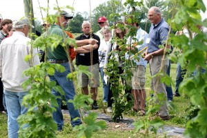 A scene from a recent Hop conference in western NY.