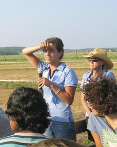 Menasha's field days demo IPM on farms.