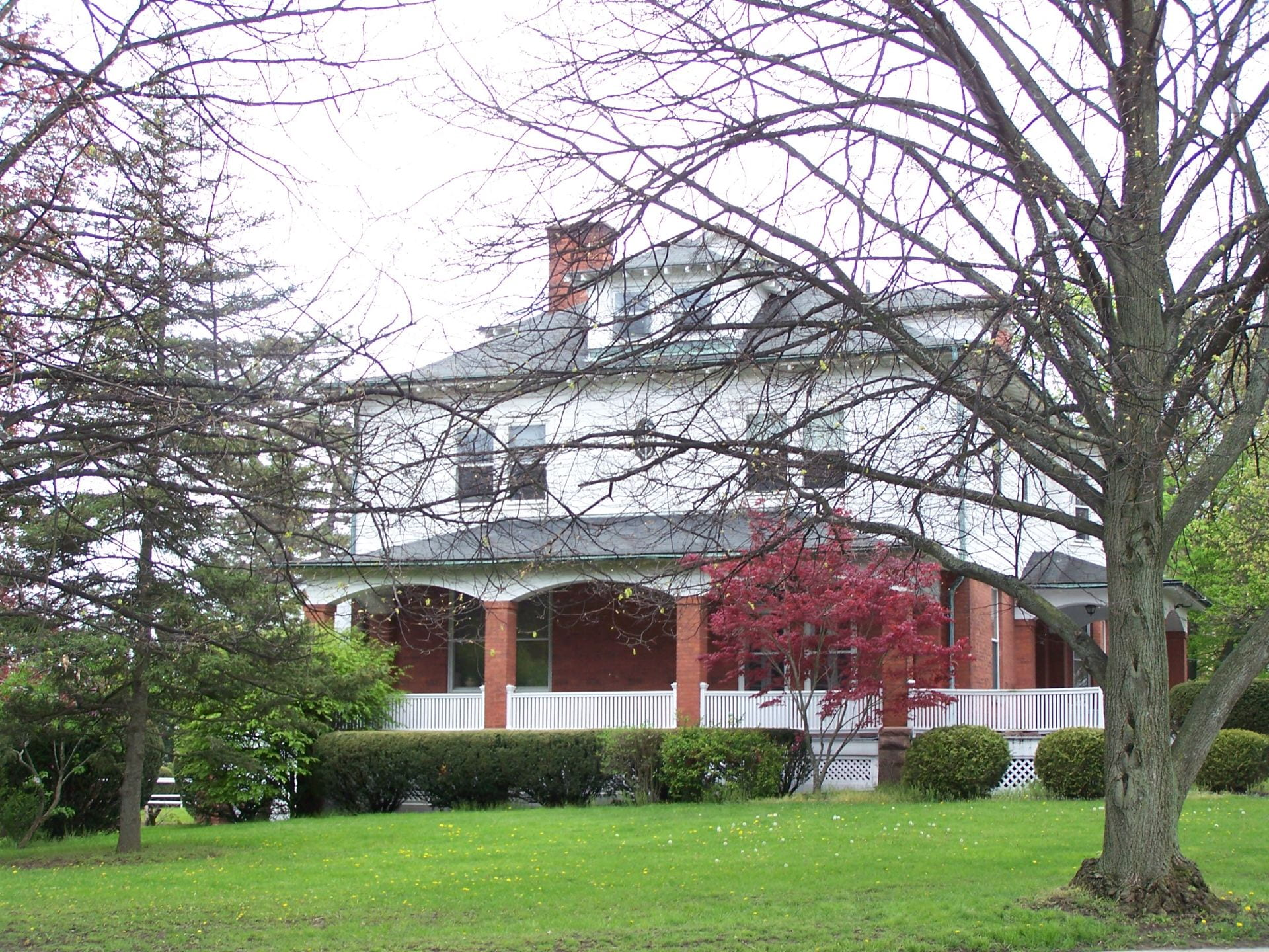 photo of IPM house in spring