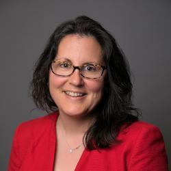 Photo portrait of Julie Suarez, Governemnt Communcations Dean, Cornell