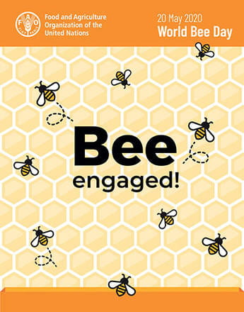 poster of world bee day