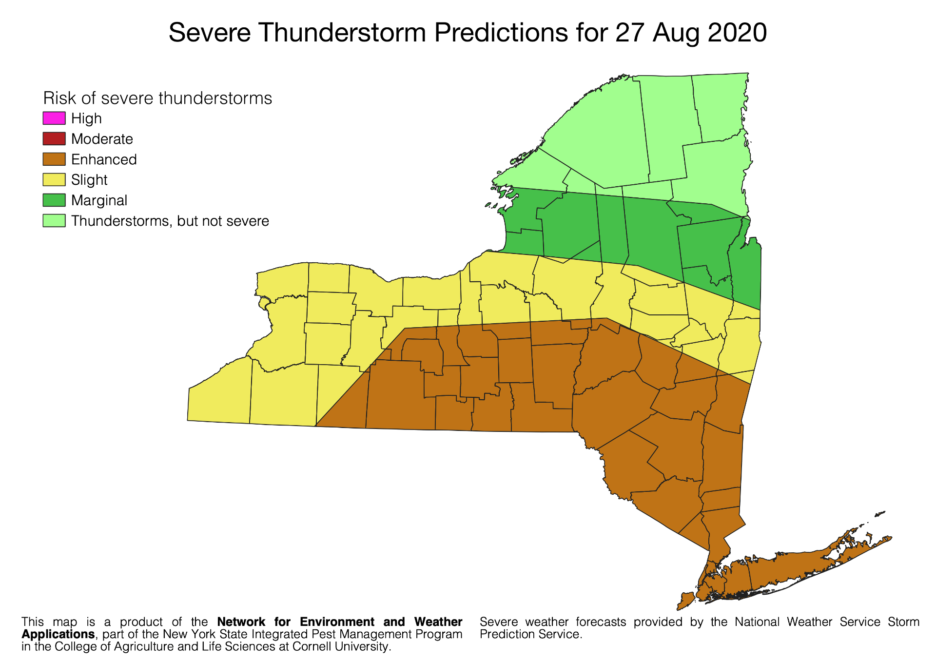 27 Aug 2020 severe thunderstorm predictions