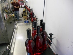 Finished bottles of Ciera Rosé