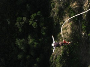 Bungee near Storm's River