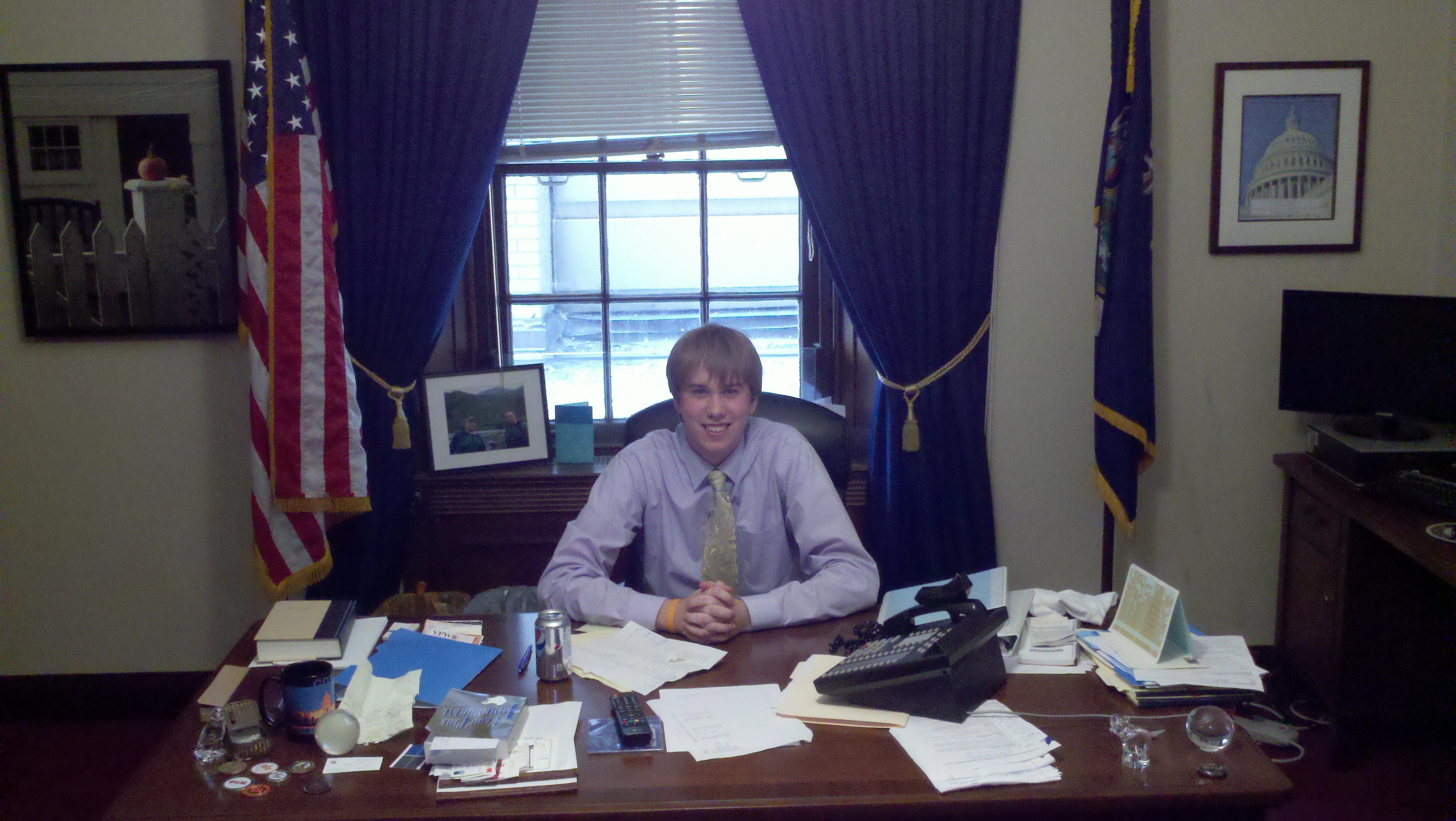 Congressman Amberg???