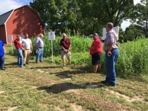 Plot Day cover crop talk
