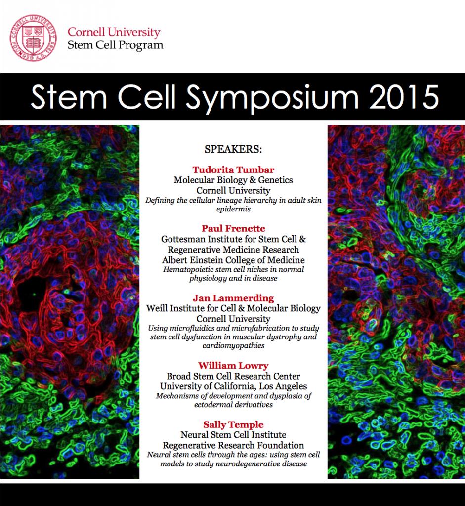 2015 Stem Cell Symposium