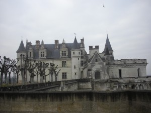 Castle in Amboise, France.