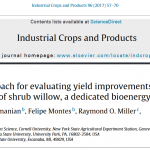 Paper update: mixed model evaluation of yield in shrub willow hybrids