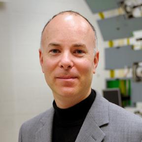 Environmental portrait of Architecture professor Keith Green.