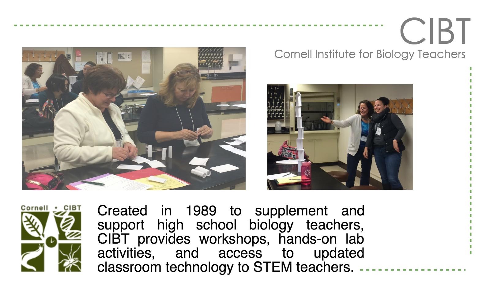 Cornell Institute for Biology Teachers