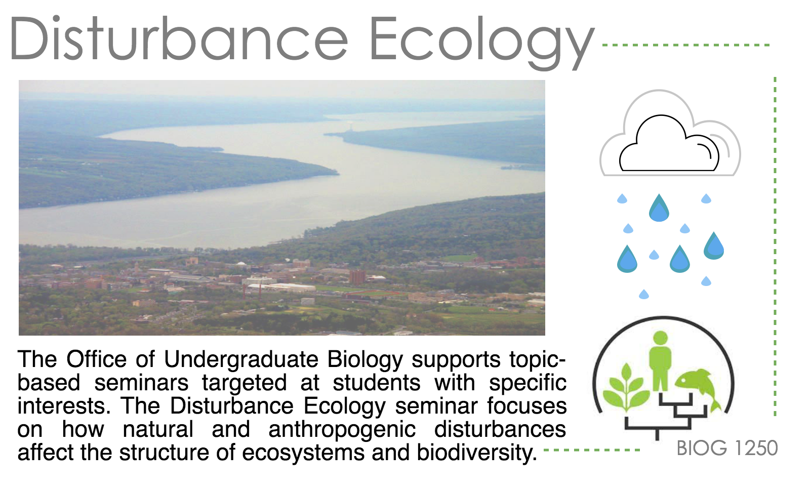 Disturbance Ecology seminar