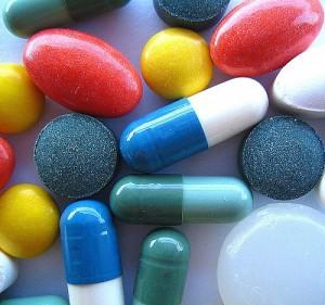 Antidepressant pills