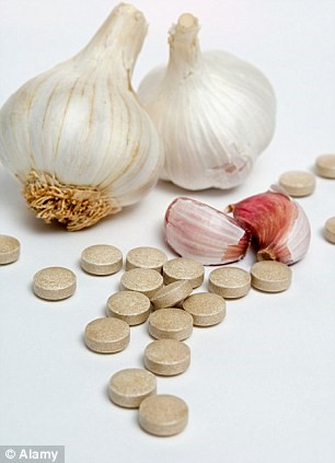 Garlic lowers blood pressure