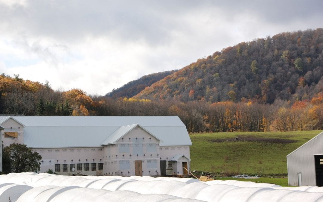 Natural gas mining promotes agriculture development in rural Pennsylvania
