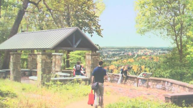 Proposal for downtown Binghamton viewshed. (Image via Carolyn Gimbal and WBNG)