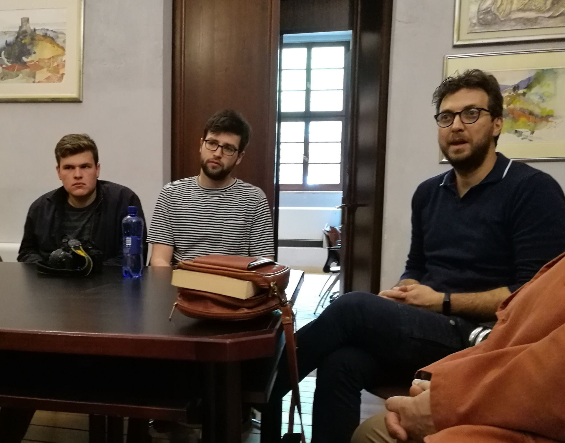 Cornell in Rome; CRP4160; City & Regional Planning; agriculture; food systems; San Quirico d'Orcia