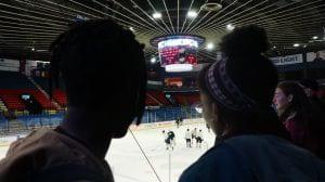 ice hockey rink
