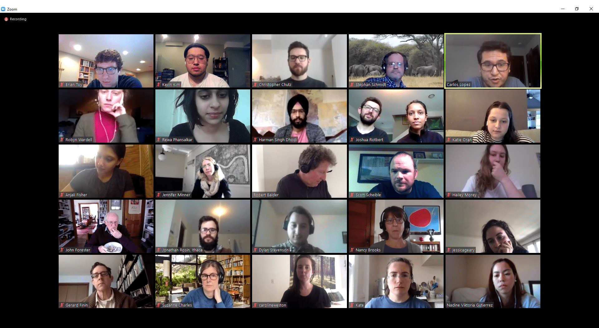 online virtual meeting
